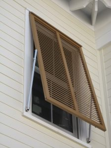 Website - Bahama Shutter with pinlatch Photo